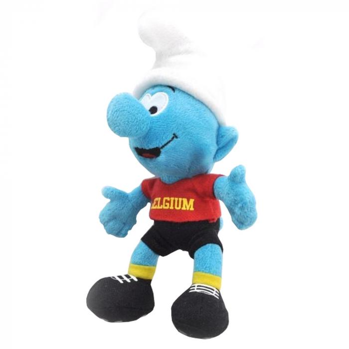 Peluche doudou Puppy: Le Schtroumpf Footballeur Belgium 20cm (755296)