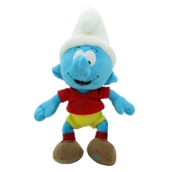 Soft Cuddly Toy Puppy The Smurfs: The Smurf Footballer 20cm (700113)