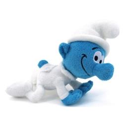 Soft Cuddly Toy Puppy The Smurfs: Baby Smurf crawling 20cm (755325)