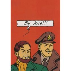 Carte postale Le Soir Blake et Mortimer: By Jove !!! (10x15cm)