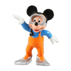 Figurine de collection Bully® Disney - Mickey en tenue de plongeur (18650)