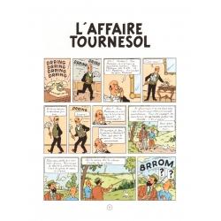 Album de Tintin: L'affaire Tournesol Edition fac-similé couleurs 1956