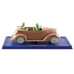 Collectible car Tintin: the brown Ford V8 convertible Nº34 29034 (2004)