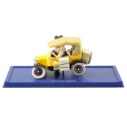 Collectible car Tintin: the Yellow Ford T Nº03 29003 (2001)