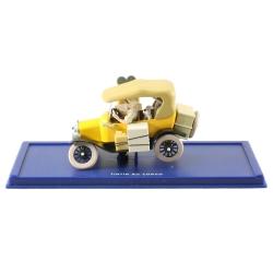 Voiture de collection Tintin: la Ford T jaune Nº03 29003 (2001)