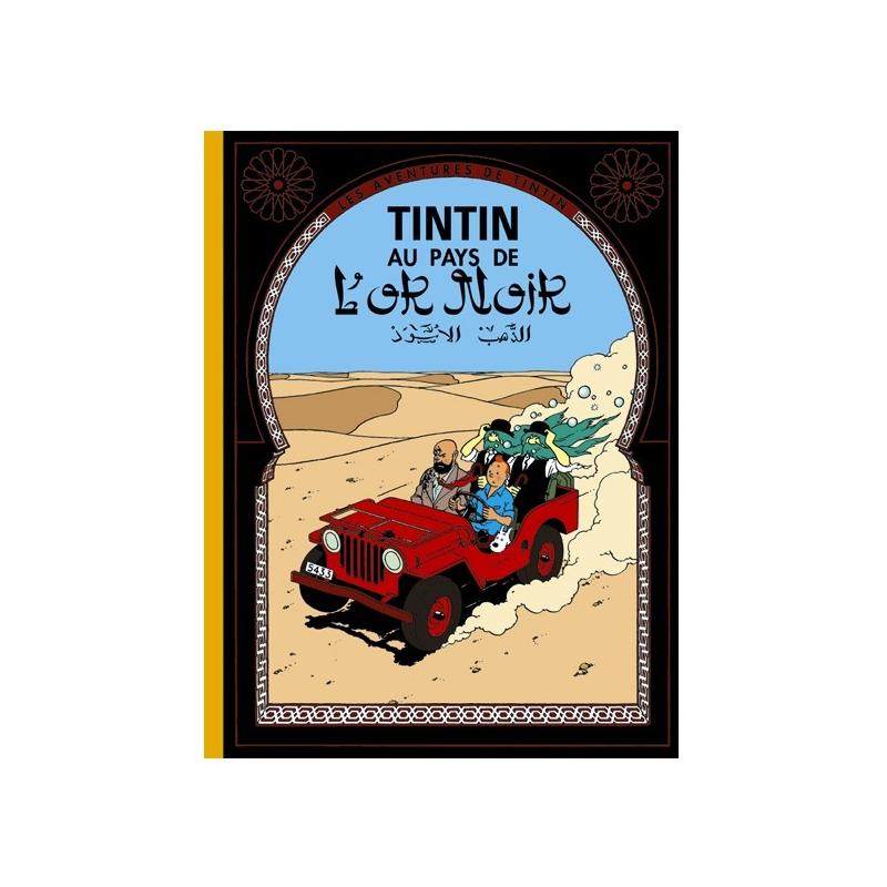 album de tintin tintin au pays de l 39 or noir edition fac. Black Bedroom Furniture Sets. Home Design Ideas