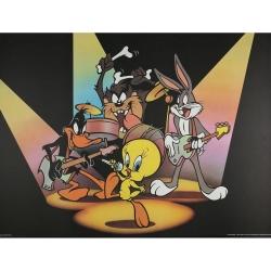 Poster Offset Warner Bros Looney Tunes, le concert (80x60cm)