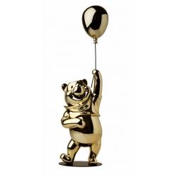 Collectible figurine Leblon-Delienne Disney Winnie the Pooh (Gold Chromed)
