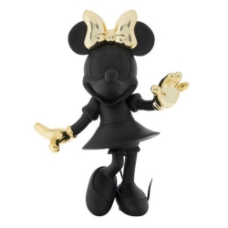 Figurine de collection Leblon-Delienne Disney Minnie Mouse Welcome (Noir-Doré)
