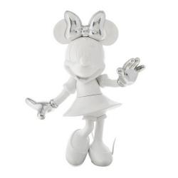 Figura de colección Leblon-Delienne Disney Minnie Mouse Welcome (Blanco-Plata)