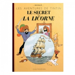 Album de Tintin: Le secret de la Licorne Edition fac-similé couleurs 1943