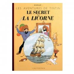 Álbum de Tintín: Le secret de la Licorne Edición fac-similé colores 1943