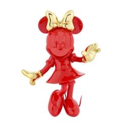 Figura de colección Leblon-Delienne Disney Minnie Mouse Welcome (Rojo-Dorado)