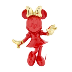 Figurine de collection Leblon-Delienne Disney Minnie Mouse Welcome (Rouge-Doré)