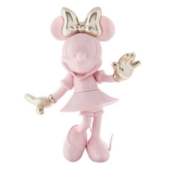 Figura de colección Leblon-Delienne Disney Minnie Mouse Welcome (Rosa-Dorado)