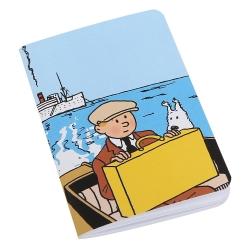 Notebook Tintin and Snowy, The Broken Ear 8,5x12,5cm (54376)