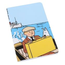 Carnet de notes Tintin et Milou, L'Oreille cassée 12,5x20cm (54375)