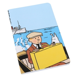Notebook Tintin and Snowy, The Broken Ear 12,5x20cm (54375)