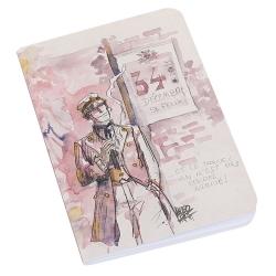 Bloc de notas Libreta Corto Maltés 34 Décembre St Félix (8,5x12,5cm)