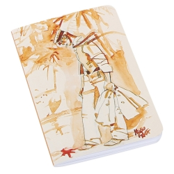Carnet de notes Corto Maltese, Pacifique (8,5x12,5cm)