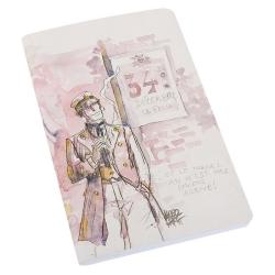 Carnet de notes Corto Maltese 34 Décembre St Félix (12,5x20cm)
