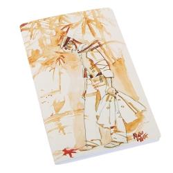 Carnet de notes Corto Maltese, Pacifique (12,5x20cm)