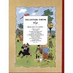 Tintin album: Le lotus bleu Edition fac-similé colours 1946