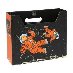 Caja archivadora DIN A4 Las aventuras de Tintín en la Luna (54379)