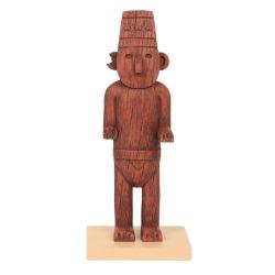 Figura de colección Moulinsart Tintín, el Fetiche Arumbaya (2020)