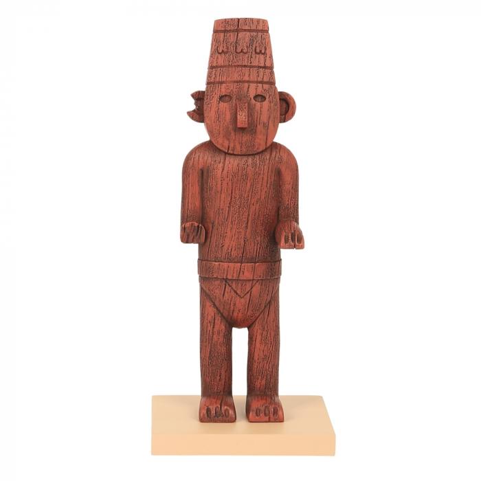 Collectible figurine Moulinsart Tintin, The Fetish Arumbaya (2020)