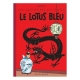 Tintin album: Le lotus bleu Edition fac-similé colours 1946