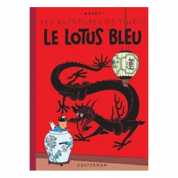 Album de Tintin: Le lotus bleu Edition fac-similé couleurs 1946