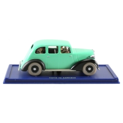 Collectible car Tintin and Snowy in the Fake police car Nº58 29058 (2006)