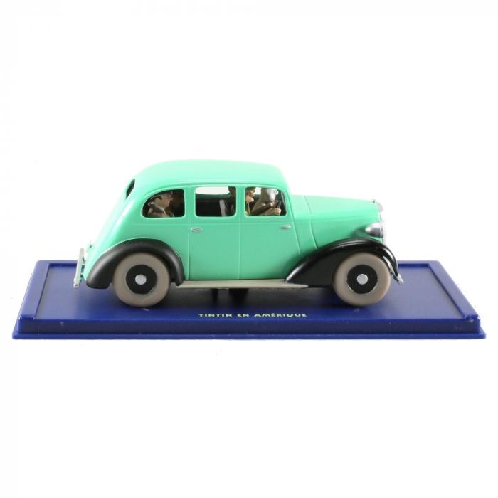 Coche de colección Tintín y Milú en el falso coche de policía Nº58 29058 (2006)