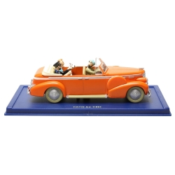 Collectible car Tintin and Snowy in The New Delhi Taxi Nº15 29015 (2002)