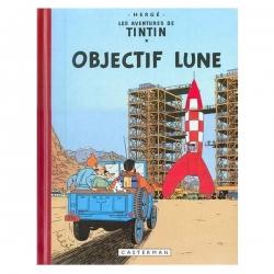 Álbum de Tintín: Objectif Lune Edición fac-similé colores 1953