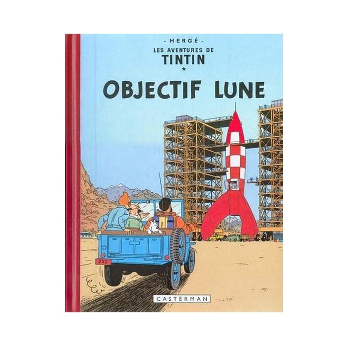 Tintin album: Objectif Lune Edition fac-similé colours 1953