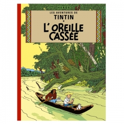 Tintin album: L'oreille cassée Edition fac-similé colours 1943