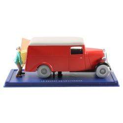 Coche de colección Tintín: la furgoneta de secuestradores Nº65 29065 (2007)