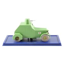 Coche de colección Tintín: el coche blindado ametralladora Nº37 29037 (2004)