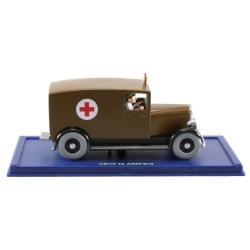 Coche de colección Tintín: La ambulancia de Chicago Nº51 29051 (2006)