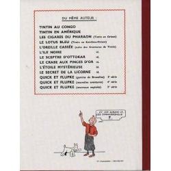 Álbum de Tintín: L'oreille cassée Edición fac-similé colores 1943
