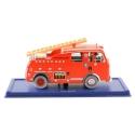 Collectible car Tintin: The Fire brigade truck Nº42 29042 (2005)