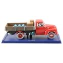 Coche de colección Tintín y Milú en el camión rojo Nº61 29061 (2006)