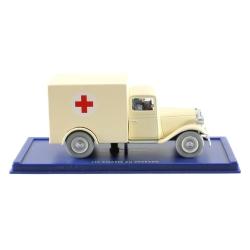 Collectible car Tintin: The Ambulance of the Asylum Nº56 29056 (2006)