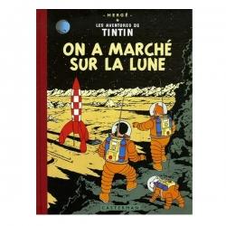 Álbum de Tintín: On a marché sur la Lune Edición fac-similé colores 1954