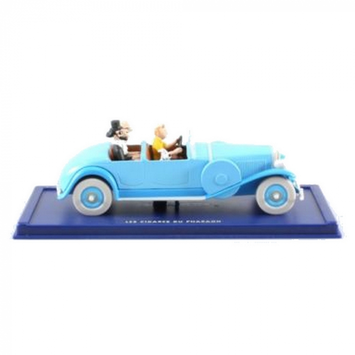 Collectible car Tintin and Snowy in The Lincoln Torpedo Nº5 29002 (2002)