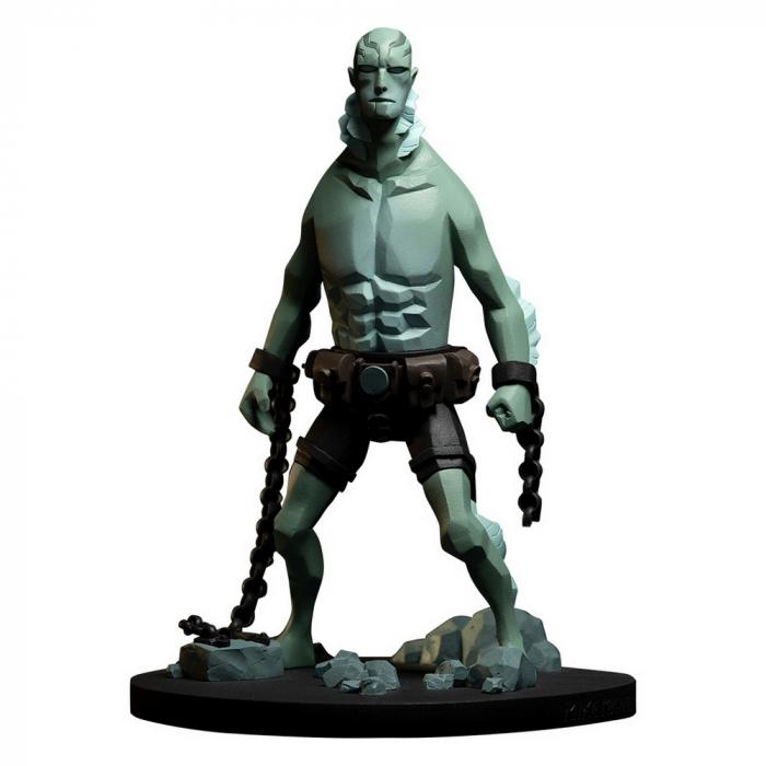 Figura de colección en resina Fariboles Hellboy, Abe Sapien HEL4 1/8 (2020)