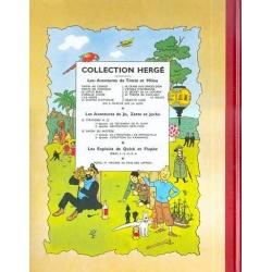 Tintin album: On a marché sur la Lune Edition fac-similé colours 1954