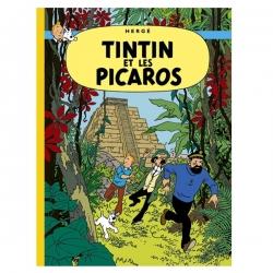 Álbum de Tintín: Tintin et les Picaros Edición fac-similé colores 1976